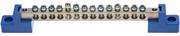 СВЕТОЗАР 14 полюсов, на 2-х угловых изоляторах, шина нулевая 49808-14