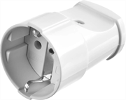 STAYER 16А/220 В, 16A, белая, розетка прямая MAXElectro 55180-W
