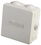 СВЕТОЗАР для наружного монтажа, 6 вводов, 400В, 54 IP, коробка установочная SV-54956