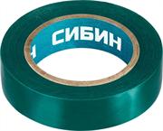 СИБИН 15 мм х 10 м, изоляционная лента пвх  1235-4