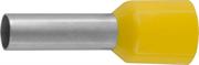 СВЕТОЗАР 6 мм, желтый, 10 шт., наконечник штыревой 49400-60