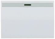 """СВЕТОЗАР одноклавишный, без вставки и рамки, выключатель """"ЭФФЕКТ"""" SV-54438-W"""