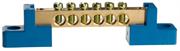 СВЕТОЗАР 6 полюсов, на 2-х угловых изоляторах, шина нулевая 49808-06