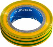 ЗУБР 15 мм х 10 м, изоляционная лента пвх электрик-10 1233-6_z02 Профессионал