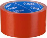 ЗУБР 48 мм х 10 м, красная, на тканевой основе, армированная лента (скотч) 12094-50-10 Профессионал