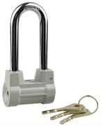 STAYER 55х29,5х40мм, облегченный, дисковый механизм секрета, удлиненная дужка, замок навесной 37149-60-1
