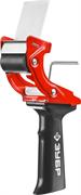 ЗУБР 50 мм, рукоятка пластмассовая, диспенсер для клеящих лент 1201_z02