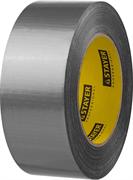 STAYER 48 мм х 45 м, серебристая, на тканевой основе, армированная лента (скотч) 12080-50-50