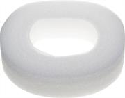 10 м, белый, уплотнитель поролоновый самоклеящийся 40902-40