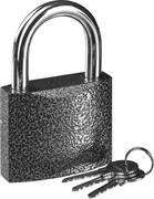 STAYER 75х58х26мм, металлический корпус, закаленная дужка, замок навесной TOPLock 37160-75