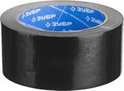 ЗУБР 48 мм х 25 м, черная, на тканевой основе, армированная лента (скотч) 12096-50-25 Профессионал