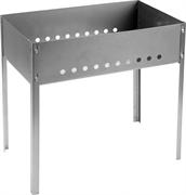 GRINDA 500 x 300 x 500 мм, сталь 0.8мм, мангал сборный BARBECUE 427782