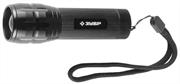 ЗУБР 3 Вт, 3хААА, ручной, 3 режима, фонарь светодиодный 56201