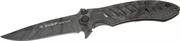 ЗУБР 205 мм/лезвие 90 мм, цельнометаллический, нож складной туристический ОХОТНИК 47702_z01
