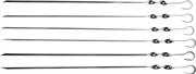 GRINDA 450 мм, 6 шт., угловые, в упаковке, шампуры BARBECUE 427755