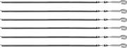 GRINDA 600 мм, 6 шт., угловые, в чехле, шампуры BARBECUE 427751