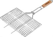 GRINDA 220х340 мм, решетка-гриль, плоская BARBECUE 424702