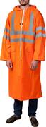 ЗУБР размер 52-54, оранжевый, светоотражающие полосы, плащ-дождевик 11617-52 Профессионал
