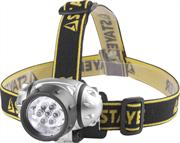 STAYER 7 LED, 3хAAA, налобный, фонарь налобный StanDarD 56572