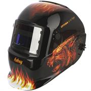 FUBAG 95х36 мм, 9-13 DIN, спец. пластик, маска электросварщика OPTIMA 9-13 Tiger