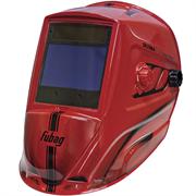 FUBAG 100х67 мм, 5-9/5-13 DIN, спец. пластик, маска электросварщика ULTIMA 5-13 Visor Red