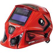 FUBAG 95х36 мм, 9-13 DIN, спец. пластик, маска электросварщика OPTIMA TEAM 9-13 RED