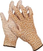 GRINDA L, 13 класс, прозрачное PU покрытие, перчатки садовые 11292-L