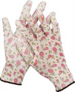 GRINDA M, 13 класс, прозрачное PU покрытие, перчатки садовые 11291-M