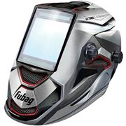 FUBAG 100х93 мм, 5-9/5-13 DIN, спец. пластик, маска электросварщика ULTIMA 5-13 Panoramic Silver