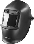 ЗУБР затемнение 11, откидной блок, маска сварщика со стеклянным светофильтром МСО-11 11072 Мастер