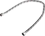 """ЗУБР 1/2"""", 0.6 м, оплетка из нержавеющей стали, подводка гибкая для воды 51005-G/S-060"""