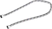 """ЗУБР 1/2"""", 0.8 м, оплетка из нержавеющей стали, подводка гибкая для воды 51005-G/G-080"""
