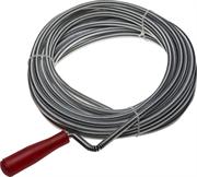 ЗУБР 10 м, пластиковая ручка, трос сантехнический 51902-10