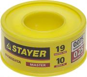 STAYER толщина 0,075 мм, плотность 0,25 г/см3, ширина 19 мм, фум лента 12360-19-025