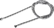 """ЗУБР 1/2"""", 1.8 м, оплетка из нержавеющей стали, подводка гибкая для воды 51005-G/S-180"""