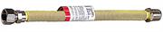 """ЗУБР 1/2"""", 0,75-1,5 м, гайка-штуцер, подводка-сильфон для газа 51007-G/S-075-150"""