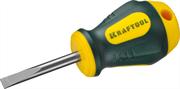 KRAFTOOL SL5.5х38 мм, отвертка слесарная 250071-5.5-038