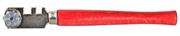 6 режущих элементов, с деревянной ручкой, стеклорез роликовый 3365