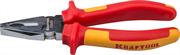 KRAFTOOL 180 мм, Cr-Mo, плоскогубцы хромированные2202-1-18_z01