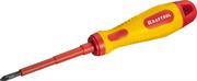 KRAFTOOL PH1х80 мм, отвертка высоковольтная 250084-1-080