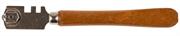 ЗУБР 10000 м, 2 режущих элемента, стеклорез роликовый 33630