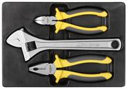 STAYER 3 шт, набор губцевого инструмента CHROMAX 22703-H3