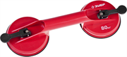 ЗУБР 80 кг, пластмассовый, двойной, стеклодомкрат 33718-2