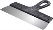 СИБИН 250 мм, нержавеющая полотно, пластмассовая рукоятка, шпатель фасадный 10079-250_z01