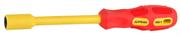 STAYER MAX-GRIP 11x125мм, отвертка диэлектрическая 25829-11-125 G