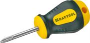 KRAFTOOL PH1х38 мм, отвертка слесарная 250072-1-038