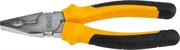 JCB 180 мм, хромированное покрытие, двухкомпонентная рукоятка, CrV cталь, плоскогубцы JPL005