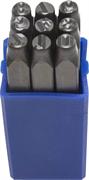 ЗУБР высота буквы 6 мм, Cr-V сталь, клейма штамповочные 21501-06_z01 Профессионал