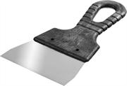 СИБИН 100 мм, нержавеющая полотно, пластмассовая рукоятка, шпатель 10079-100_z01