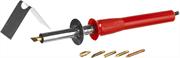 MIRAX 450°C, 6 насадок, 220 В, 40 Вт, прибор для выжигания с набором насадок 55430-H6